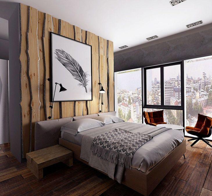 Wooden Rustic Bedroom Ideas