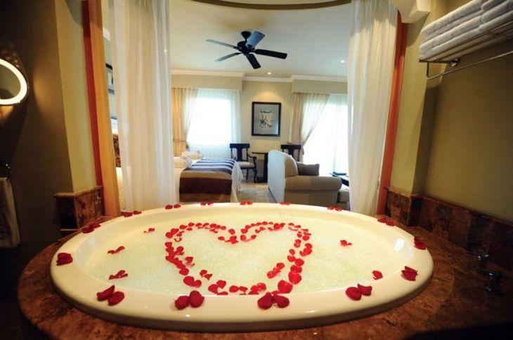 Valentines Bathroom