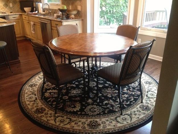 Best Cheap Rugs for Under Kitchen Table 9