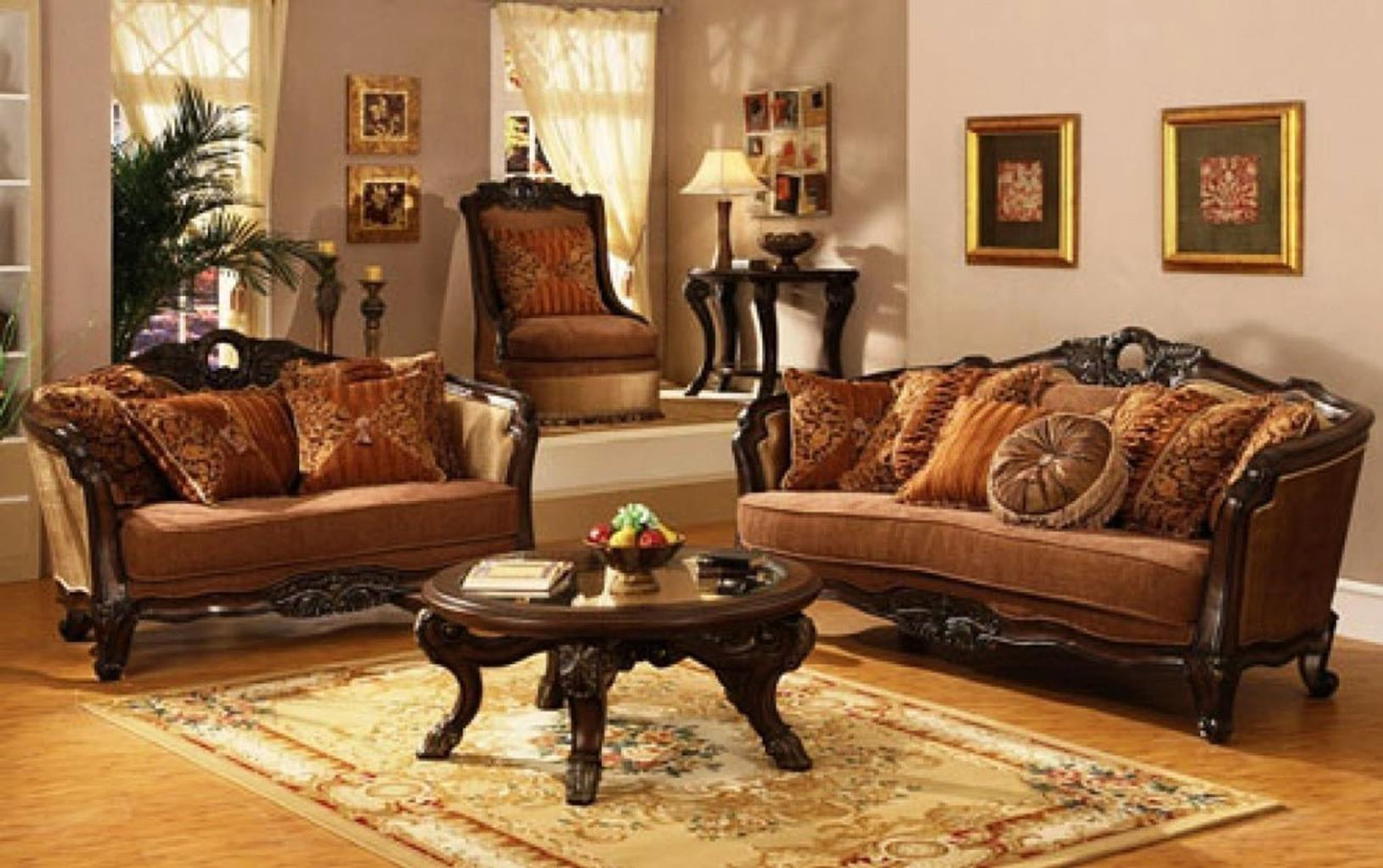 Country Style Living Room Furniture Ideas 12