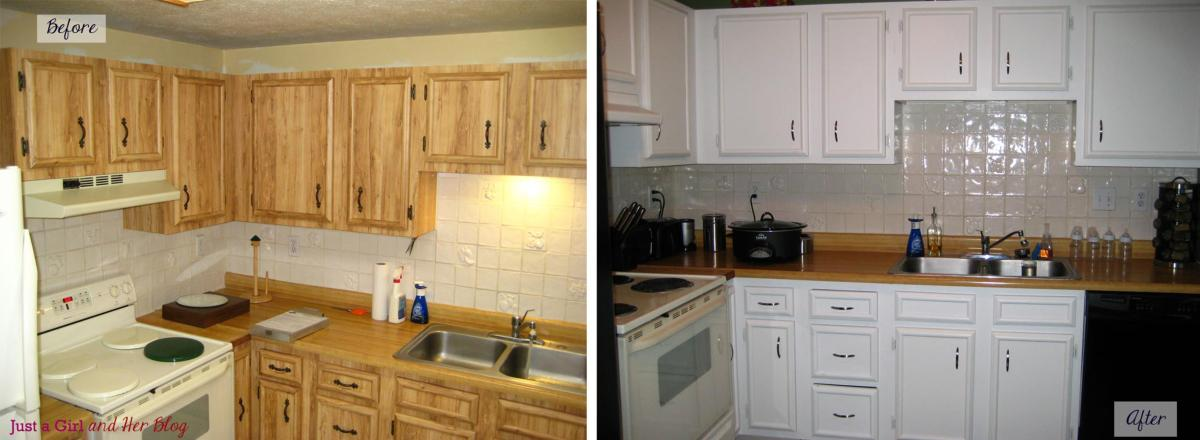 Painted Kitchen Cabinets Before And After 18