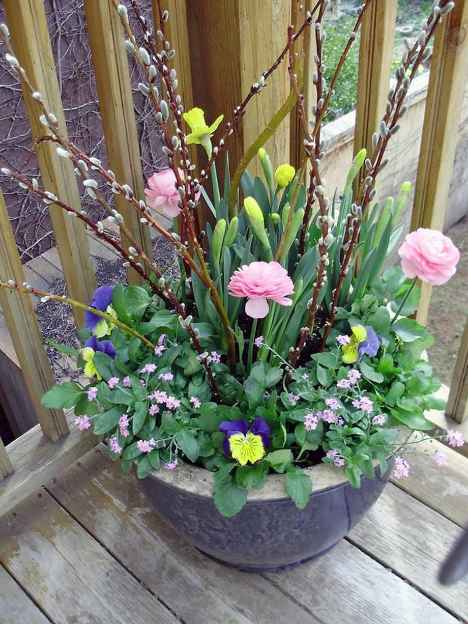 Spring Container Gardening Ideas 32