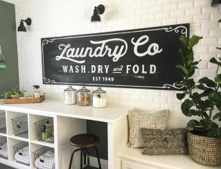 Vintage Laundry Room Decoration Ideas 14