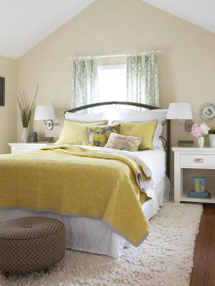 Blue And Beige Bedrooms Decorating Ideas 12