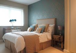 Blue And Beige Bedrooms Decorating Ideas 18