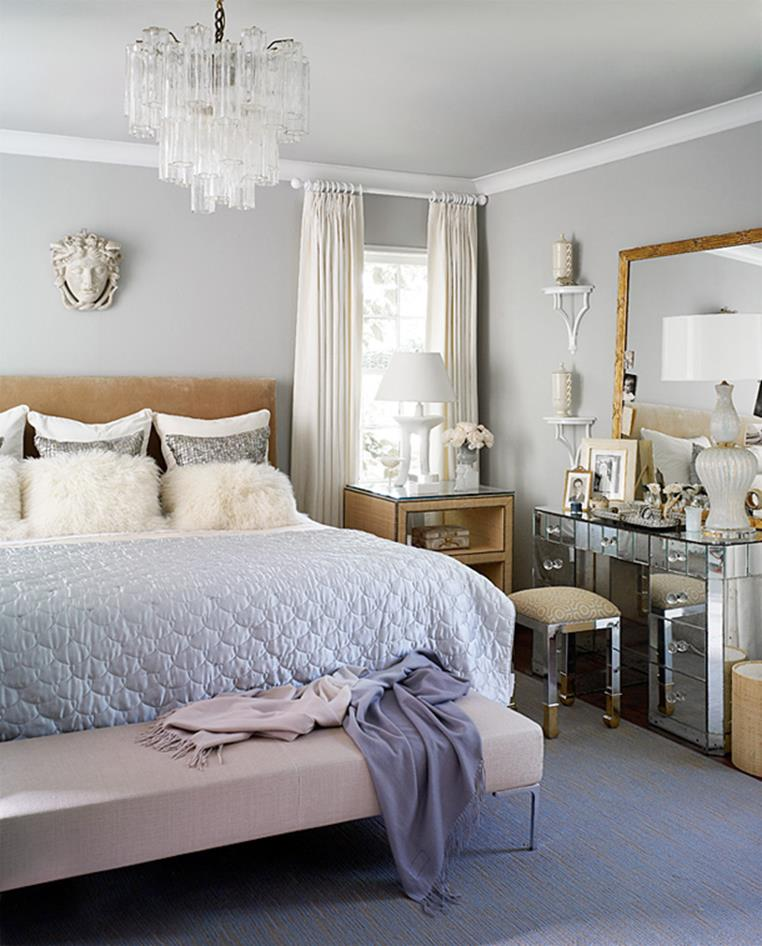 Blue And Beige Bedrooms Decorating Ideas 20