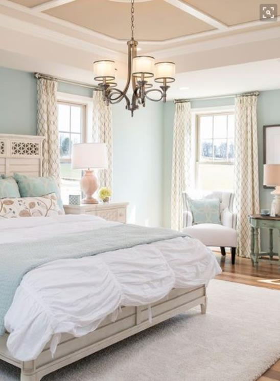 Blue And Beige Bedrooms Decorating Ideas 21