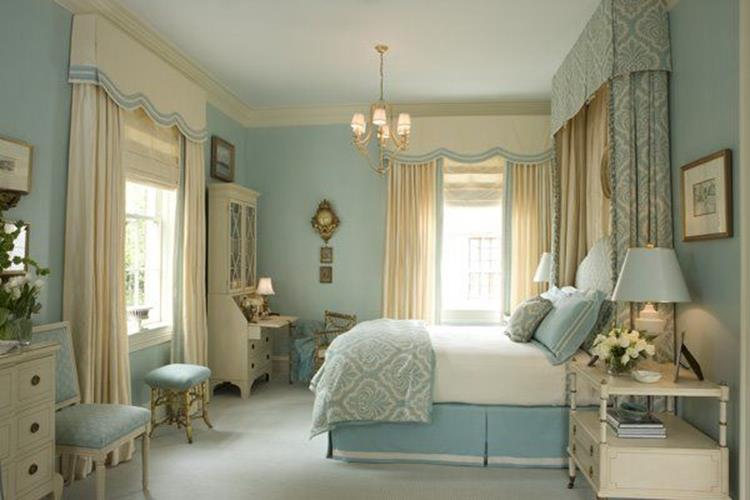 Blue And Beige Bedrooms Decorating Ideas 22