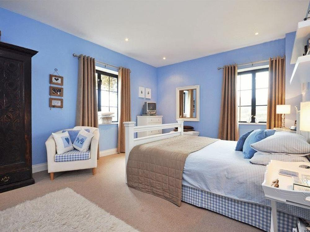 Blue And Beige Bedrooms Decorating Ideas 31