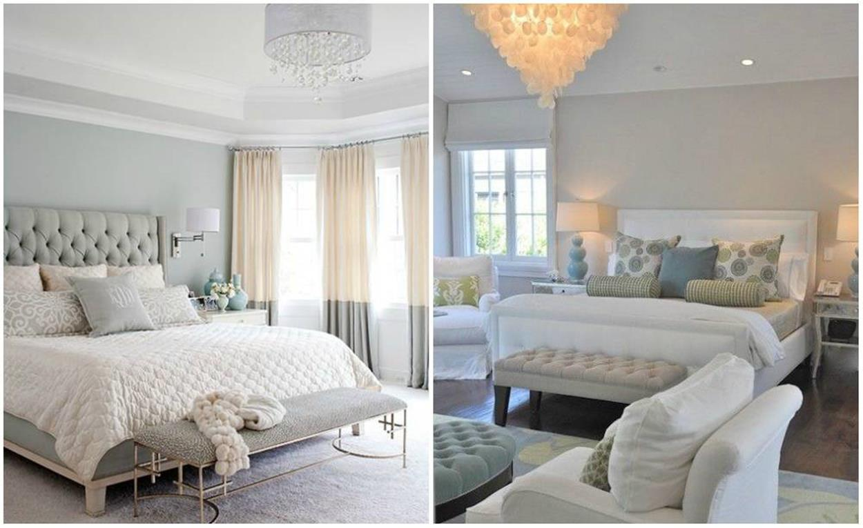 Blue And Beige Bedrooms Decorating Ideas 35