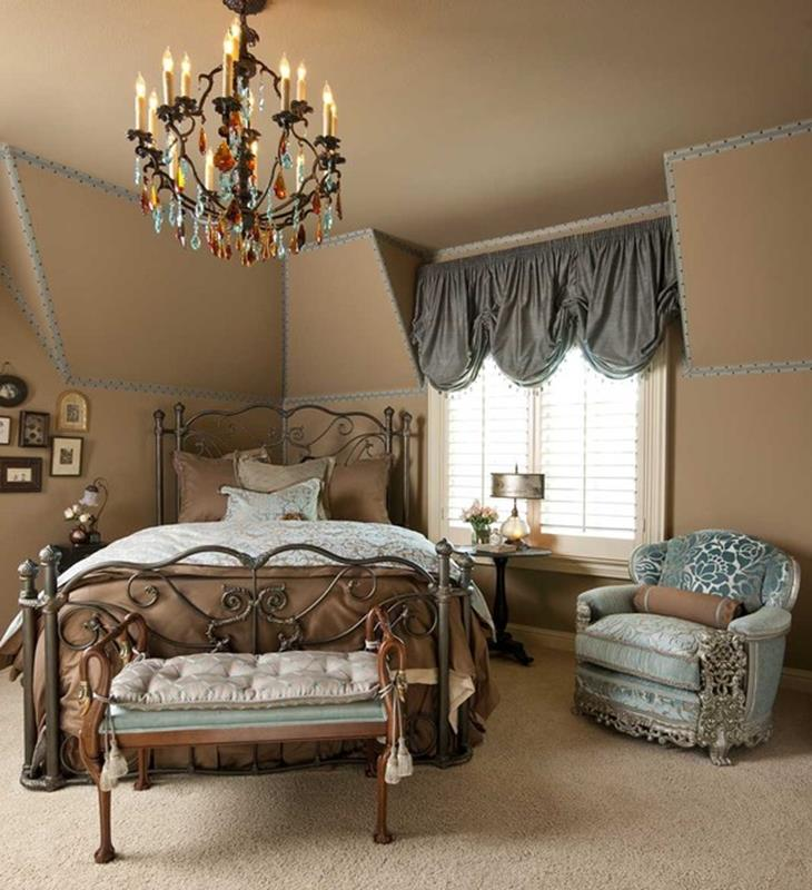 Blue And Beige Bedrooms Decorating Ideas 39
