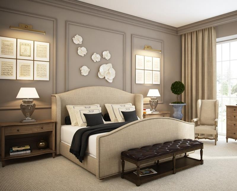 Blue And Beige Bedrooms Decorating Ideas 6