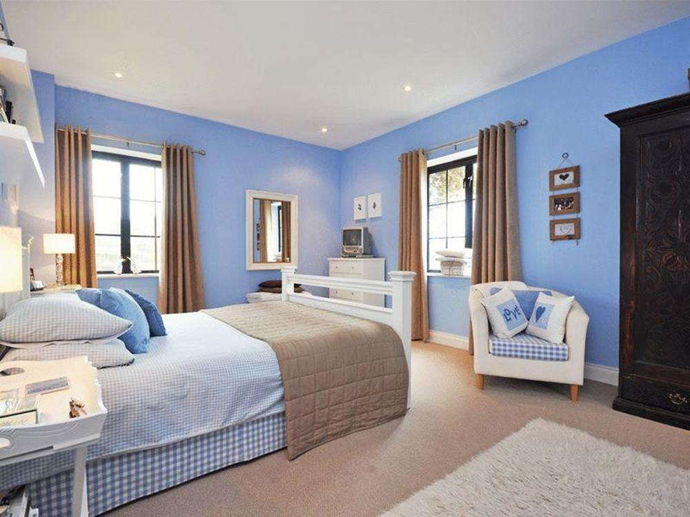 Blue And Beige Bedrooms Decorating Ideas 8