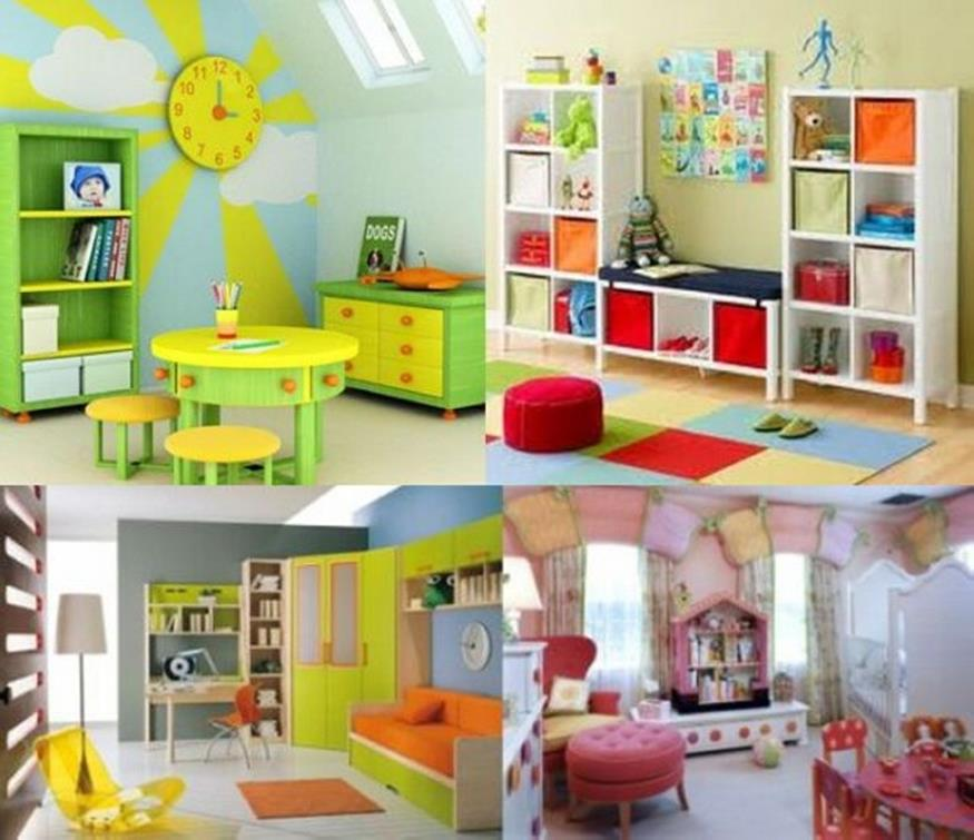 Color Full Kids Room Decorating Ideas On A Budget 1