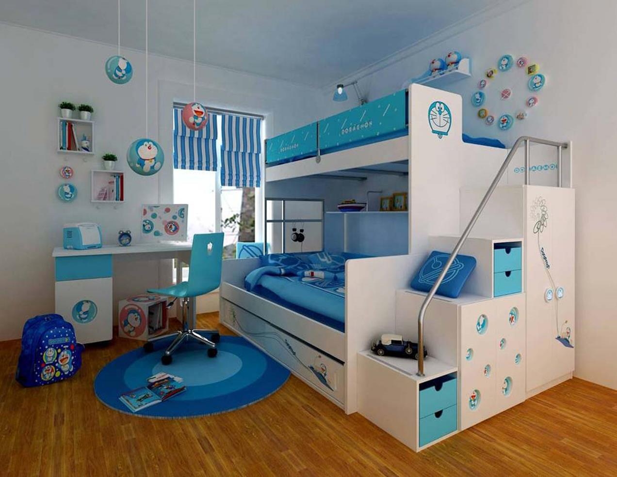 Color Full Kids Room Decorating Ideas On A Budget 7