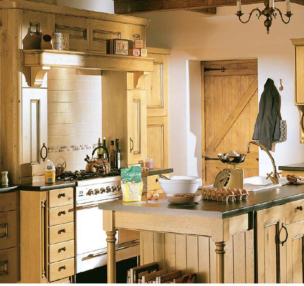 Country Style Kitchen Cabinets Design Ideas 12
