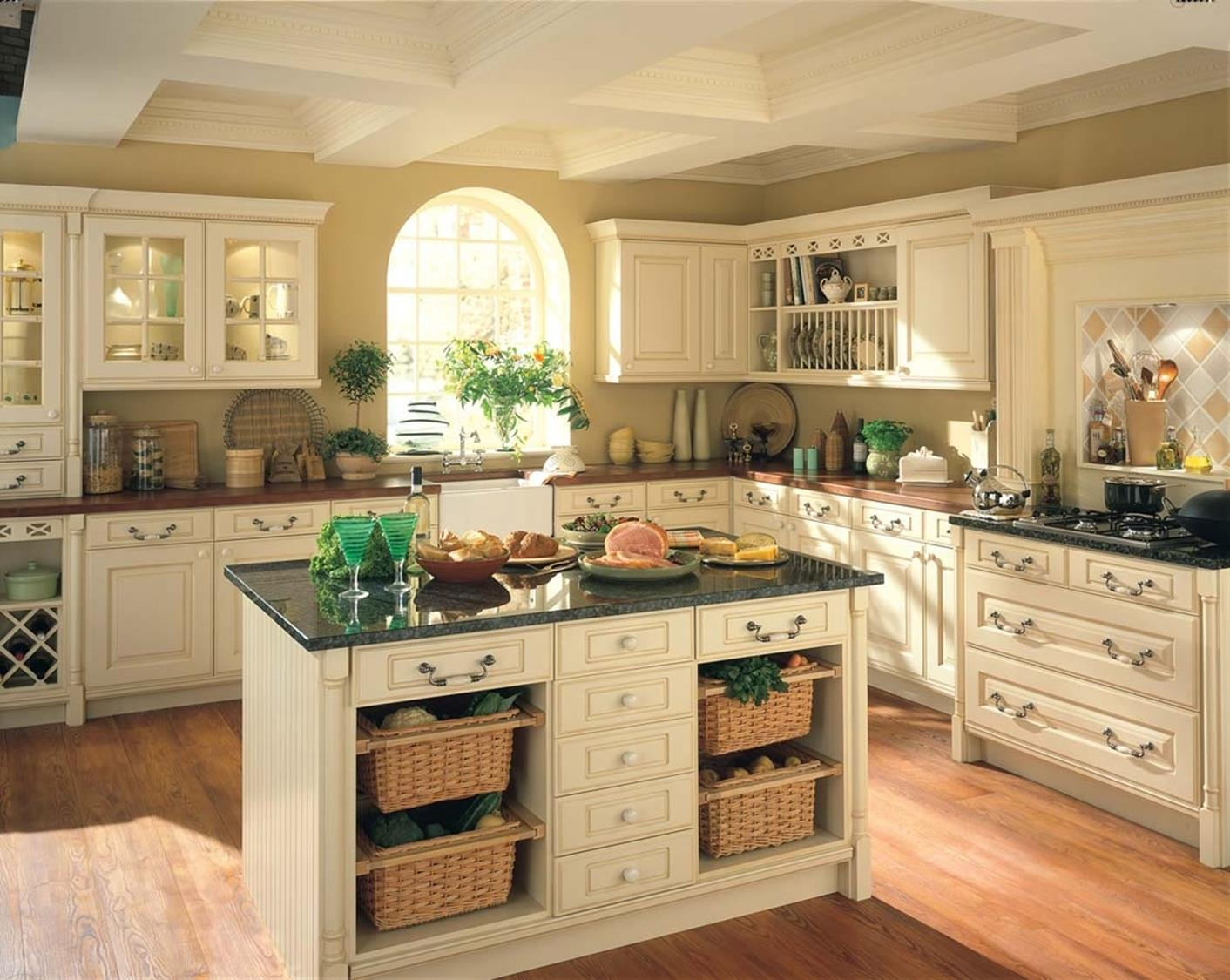Country Style Kitchen Cabinets Design Ideas 4