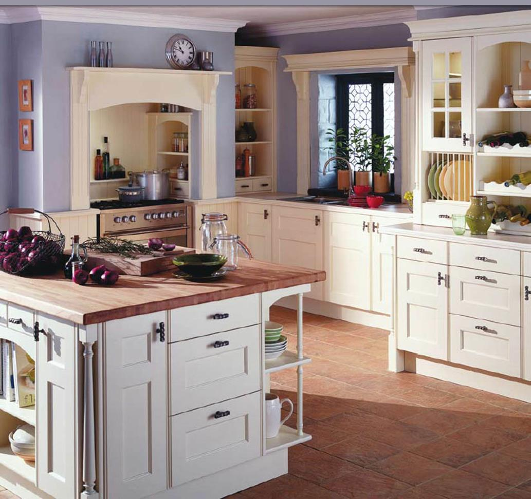 Country Style Kitchen Cabinets Design Ideas 8