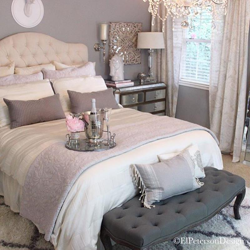 Cozy Romantic Relaxing Bedroom Color Ideas 4