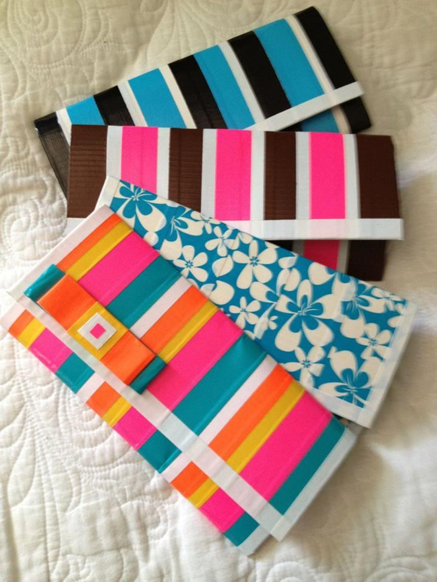 DIY Easy Crafts With Duct Tape 7