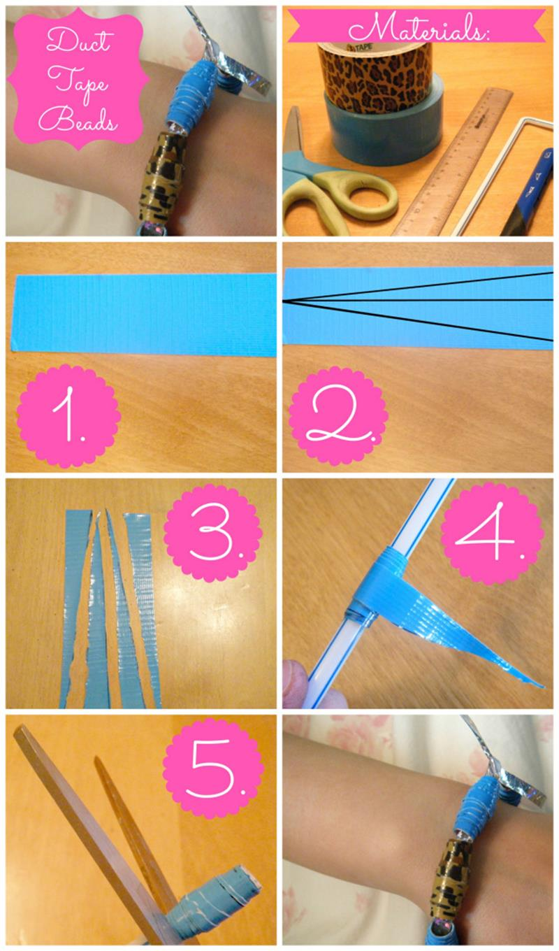 DIY Easy Crafts With Duct Tape 8