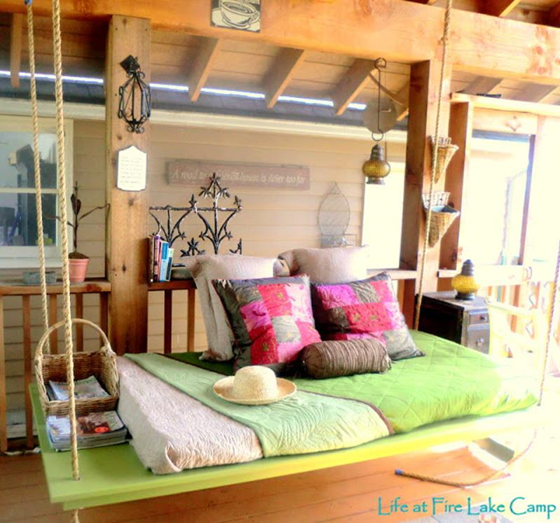 Diy Porch Swing Bed Ideas On A Budget 14