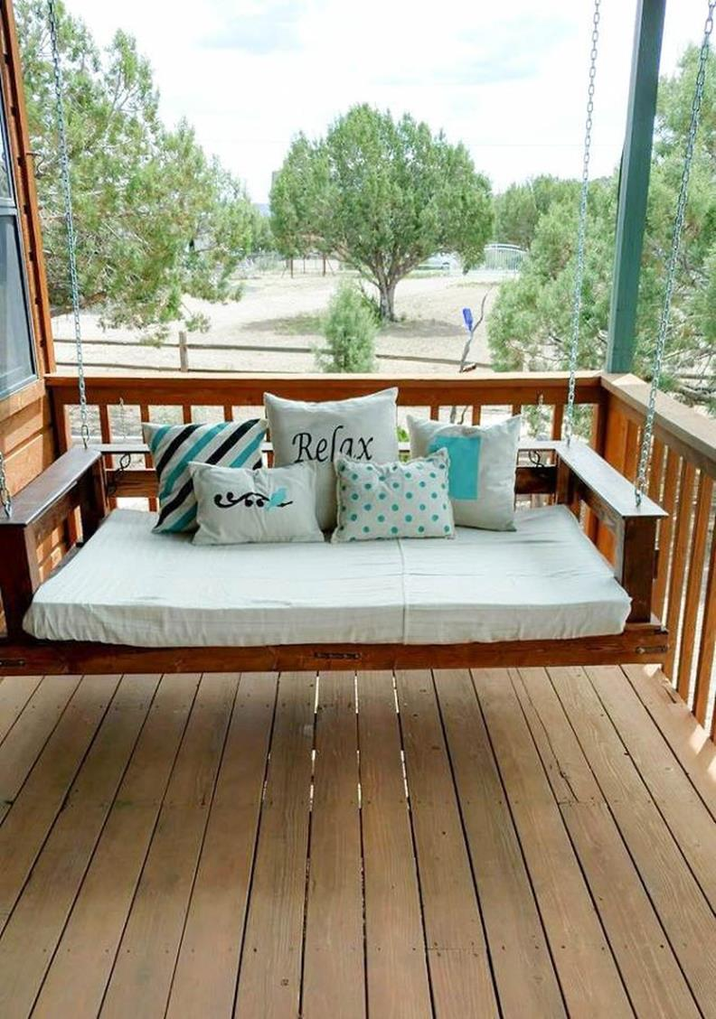 Diy Porch Swing Bed Ideas On A Budget 28