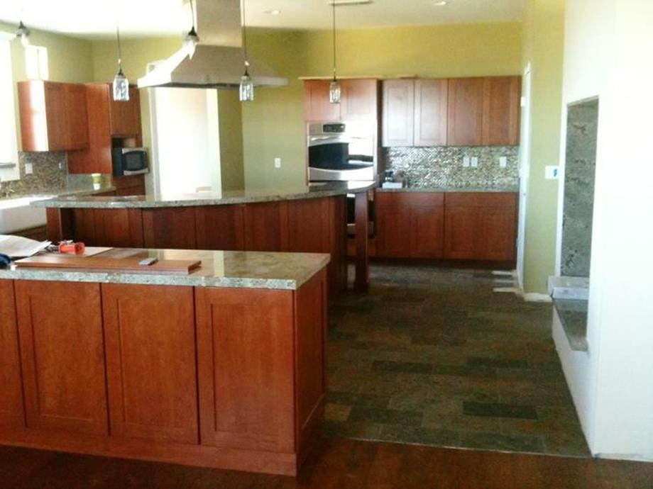 Kitchen Cabinets And Flooring Combinations 11