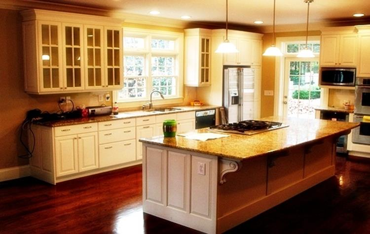 Kitchen Cabinets And Flooring Combinations 20