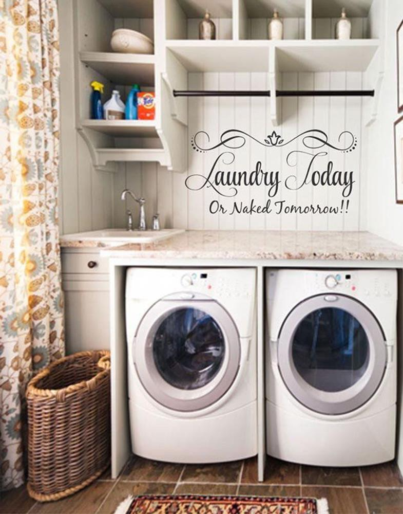 Laundry Room Accessories Decorations Ideas 11