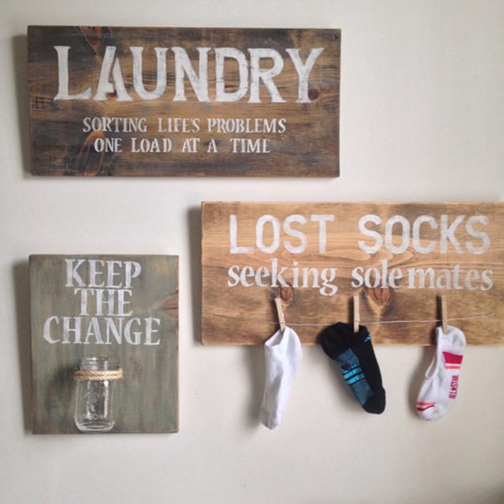 Laundry Room Accessories Decorations Ideas 17