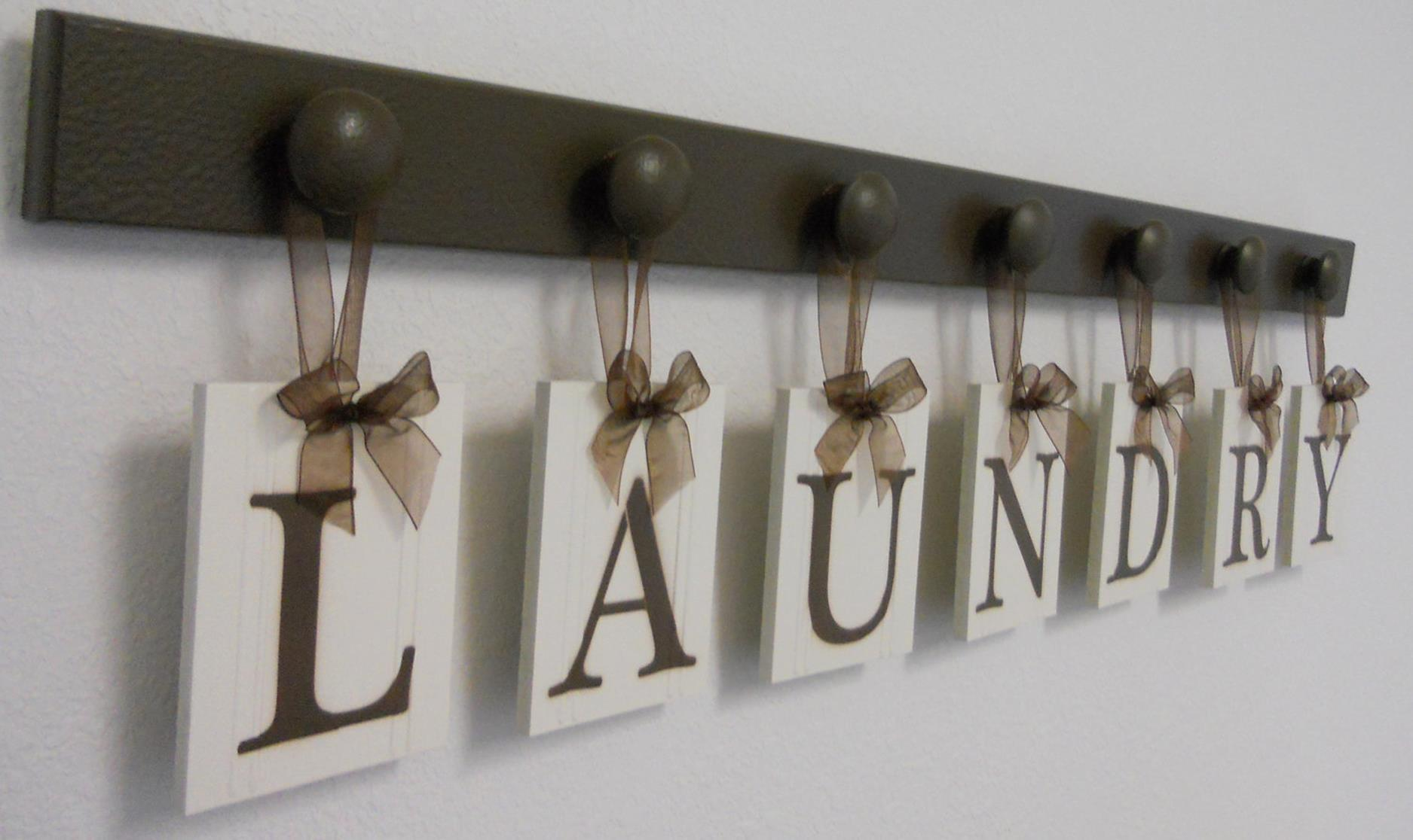 Laundry Room Accessories Decorations Ideas 18