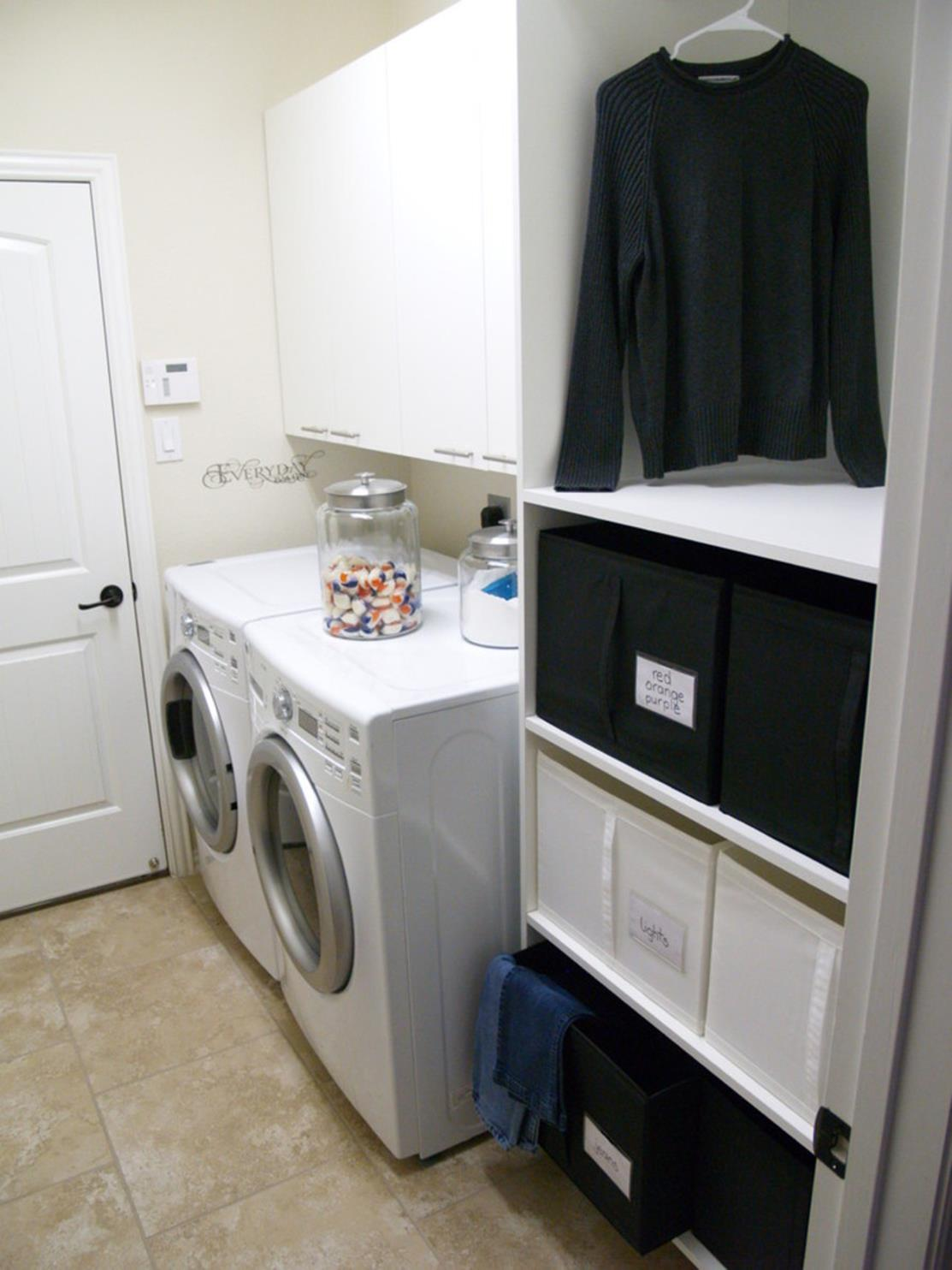 Laundry Room Accessories Decorations Ideas 20