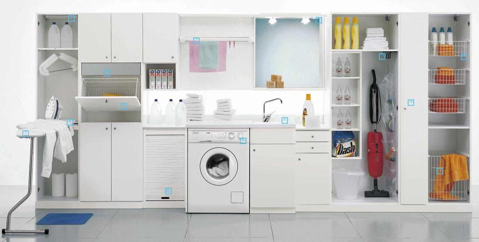 Laundry Room Accessories Decorations Ideas 24