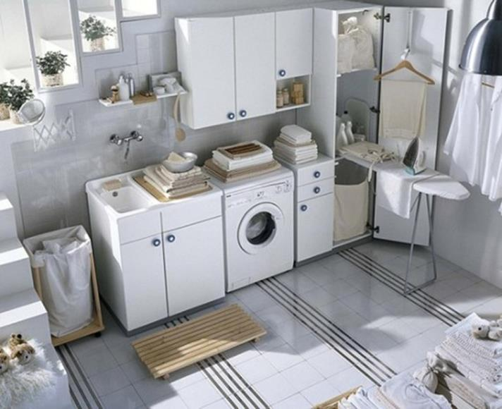Laundry Room Accessories Decorations Ideas 25