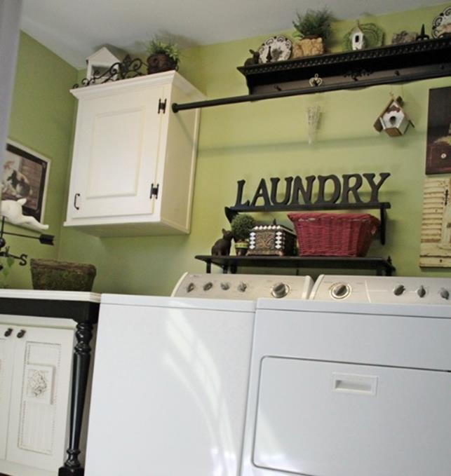 Laundry Room Accessories Decorations Ideas 31