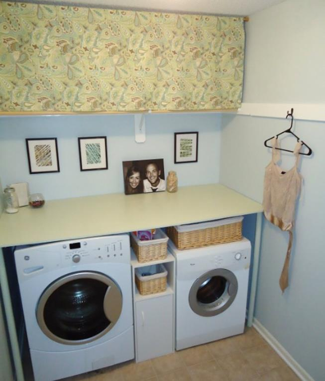 Laundry Room Accessories Decorations Ideas 33