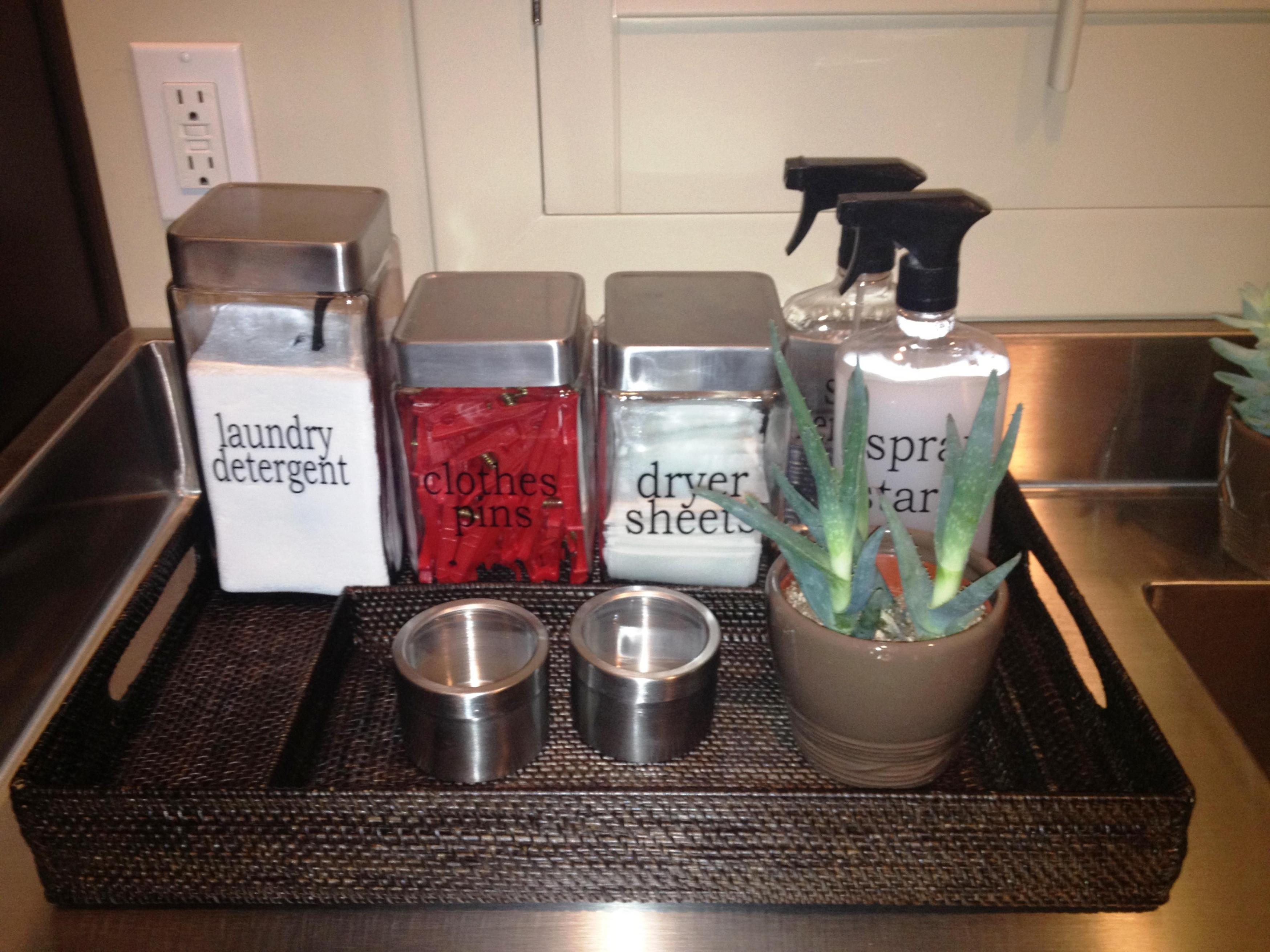 Laundry Room Accessories Decorations Ideas 6
