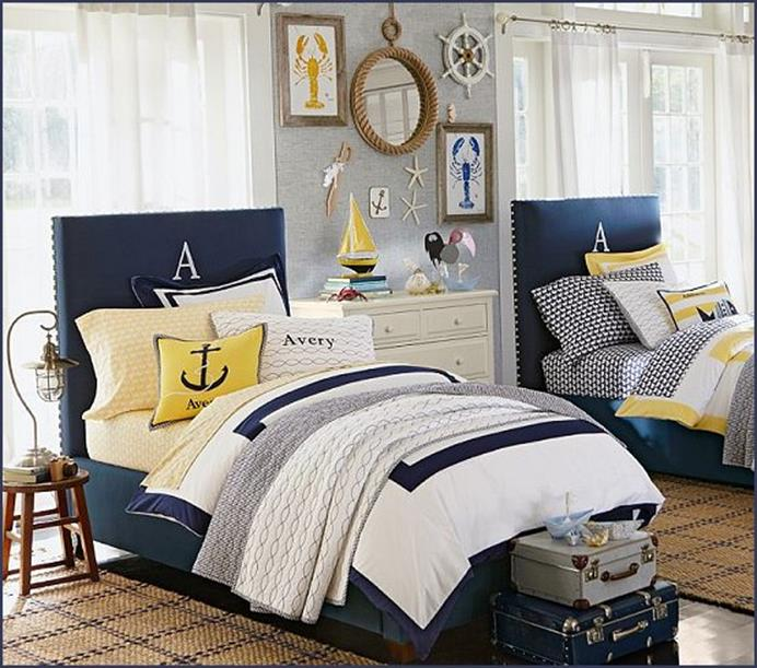 Nautical Themed Bedroom Design and Decor Ideas 36