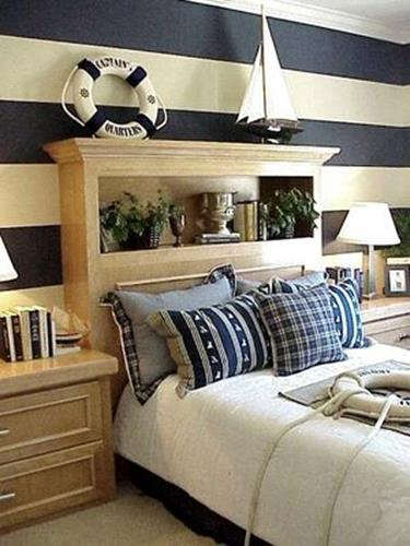Nautical Themed Bedroom Design and Decor Ideas 5