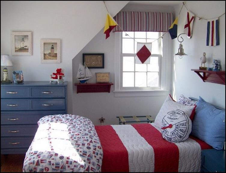 Nautical Themed Bedroom Design and Decor Ideas 6