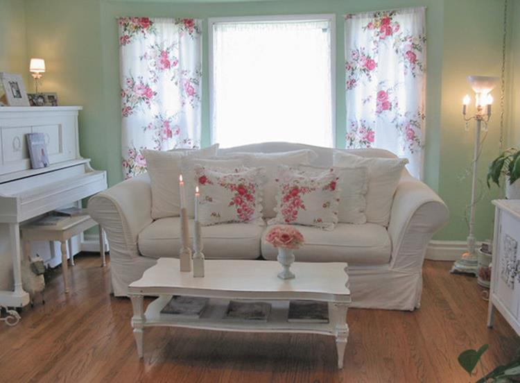 Shabby Chic Living Room Decorating on A Budget 24