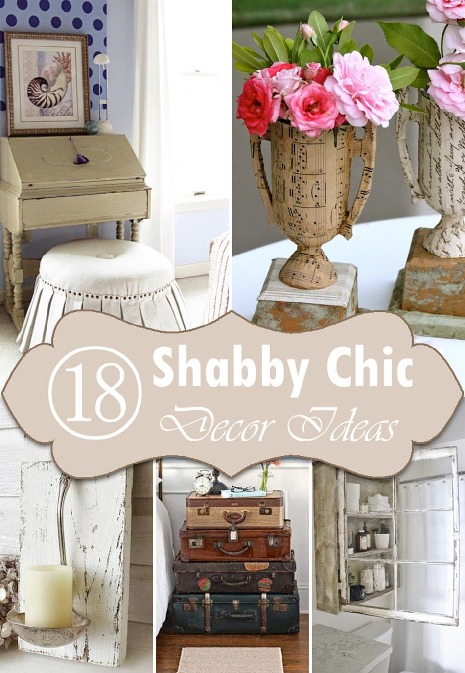 Shabby Chic Living Room Decorating on A Budget 4