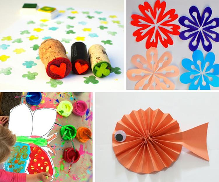 Simple and Beautiful Arts And Crafts Ideas For Kids 21