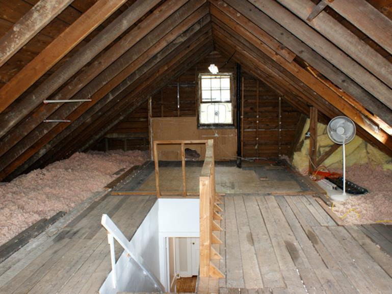 Attic Makeovers Ideas On a Budget 1
