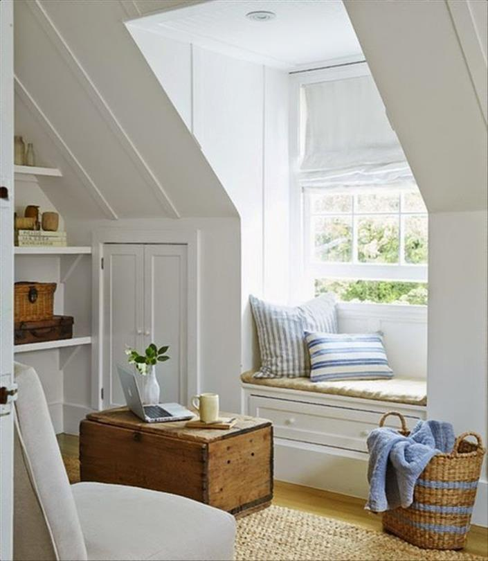 Attic Makeovers Ideas On a Budget 11
