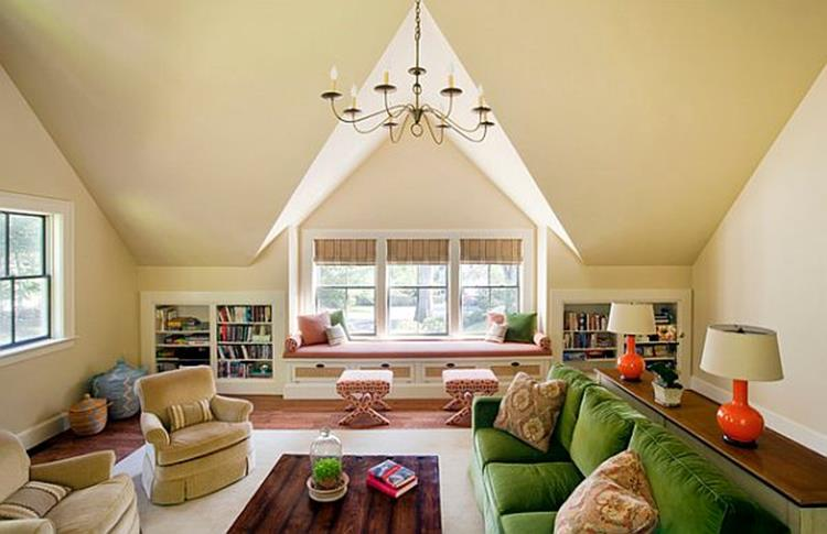 Attic Makeovers Ideas On a Budget 25