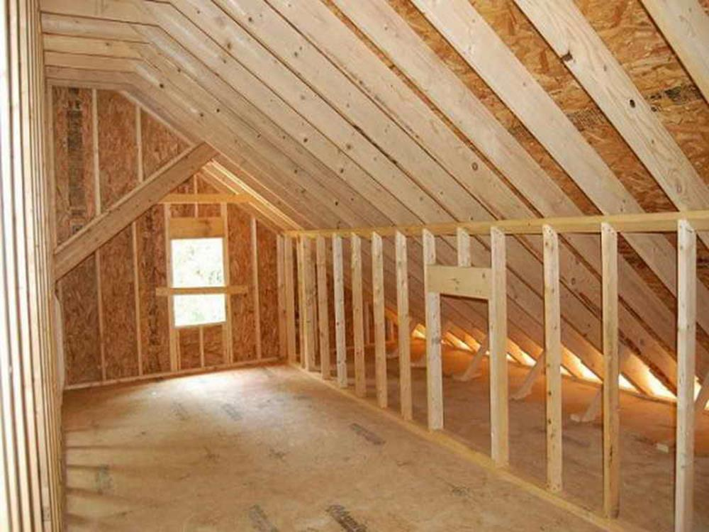 Attic Makeovers Ideas On a Budget 3