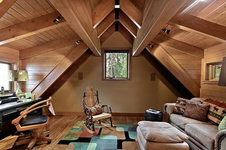 Attic Makeovers Ideas On a Budget 39