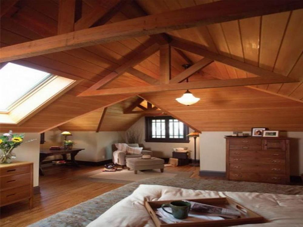 Attic Makeovers Ideas On a Budget 40